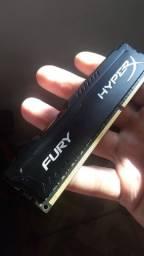 Memória RAM HiperX 8gb DDR3 1866mhz