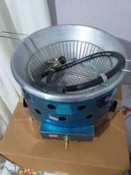 Fritadeira nova com 6 meses de garantia nas elétricas promoção
