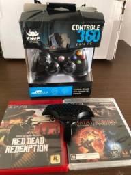 Controle e Jogos PS3