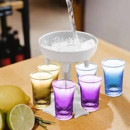 Shot de bebida 6 em 1 barman