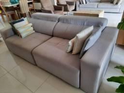 Título do anúncio: Belíssimo sofá 4 lugares retrátil e reclinável marca Sierra, pela metade do preço