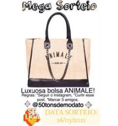 MEGA SORTEIO Bolsa Luxuosa ANIMALE