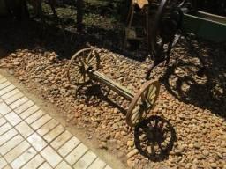 Par de rodas de carroça (pequenas)
