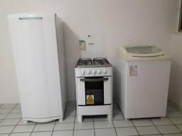 Geladeira, Fogão e Máquinde lavar roupas