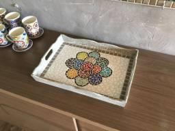 Bandeja de mosaico