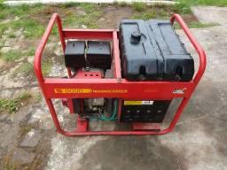 Gerador a gasolina 110/220 volts