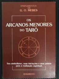 Livro os arcanos menores do tarô