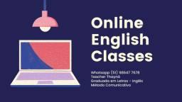Aulas online de Inglês R$ 150 ao mês