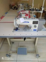 Máquina de costura reta direct drive
