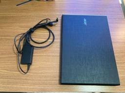 Notebook Acer Aspire e15 2016, i7, em ótimo estado, com ssd e hd e placa de vídeo dedicada
