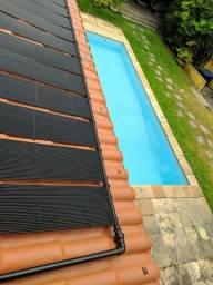 Instalação de aquecedor de piscina