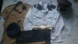 Farda de gala colégio militar