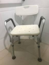 Cadeira de banho ideal para idoso