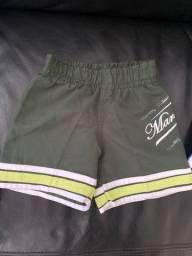 Shorts Tactel - 6 meses a 2 anos