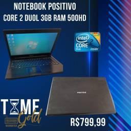 Título do anúncio:  Notebook Positivo Core 2 duol 3gb ram 500hd