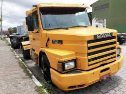 Scania 112 hs 87 engatado Porta container 97 (Conjunto)