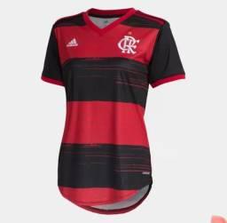 Camisa Flamengo adidas feminina