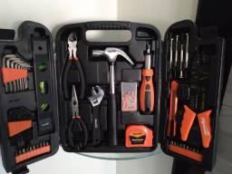 Título do anúncio: Maleta de ferramentas com 129 peças!  Valor de 150 reais
