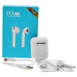Fone de Ouvido AirPods i11 TWS Bluetooth 5.0 com Sensor Touch para Iphone e Android