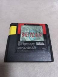 Cartucho Skitchin original para Mega Drive/Sega Gênesis.