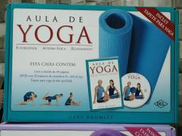 Kit Yoga com Tapete + DVD + Livro