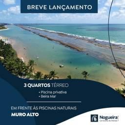 Título do anúncio: Ap - Melhor que Bangalô em Muro Alto - Beira Mar