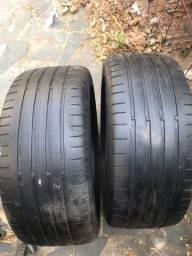 Vendo par de pneus 235/45/18 Goodyear