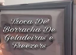 Troca De Borracha De Geladeira e Freezers