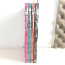 Coleção Another Mangá 1 2 3 e 4