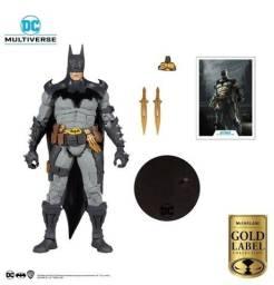 Dc Mcfarlane Boneco Batman Gold L