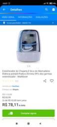 Título do anúncio: Esterilizador de chupeta e bico de mamadeira elétrica portátil.
