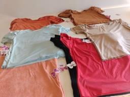 Kit Revenda  blusinha sued