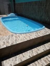 Casa em Itamaracá com piscina.