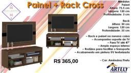 Título do anúncio: Painel + Rack Cross/ Frete à consultar .
