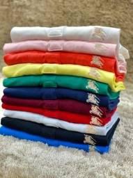 Camisa Polo Burberry Malha Peruana