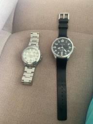 Relógios Guess e Náutica