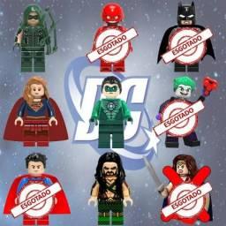 Bonecos Lego Super Heróis Marvel DC Star Wars Harry Potter Dragon Ball