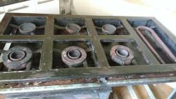Fogão industrial 6 bocas