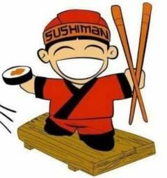 Vaga auxiliar de sushiman Marechal Hermes