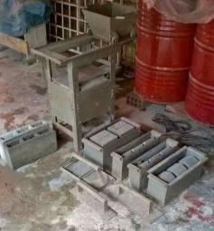 Maquina de blocos de concreto elétrica