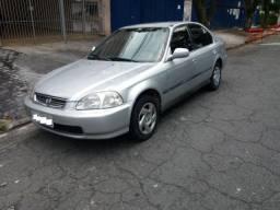 Honda Civic 1.6 Lx 1998 Aut Com Couro - 1998