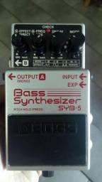 Pedal Analógico Bass Synthesizer SYB5 Boss