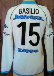 Camisa Grêmio centenário, longa, de jogo