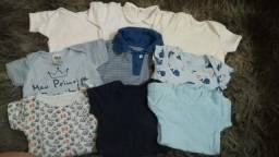 Combo roupas menino rn a 3 meses