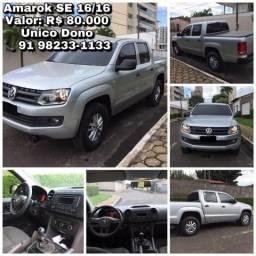 VW Amarok CD 4x4 Diesel - 2016