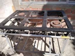 Fogão industrial metal mão leia a descrição