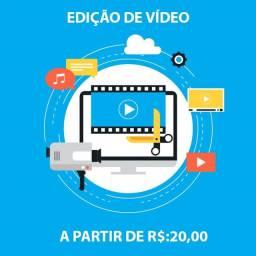Edição de Vídeo a partir de 20,00
