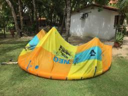 Kite+barra Duotone Neo 8m 2019 impecável