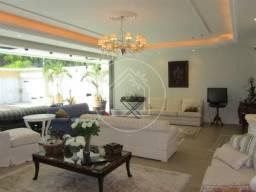 Casa à venda com 5 dormitórios em Barra da tijuca, Rio de janeiro cod:495969