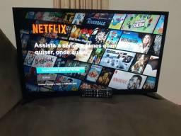 Tv 32 pol, samsung, led, full hd, smart (wi-fi). parcelo no cartão
